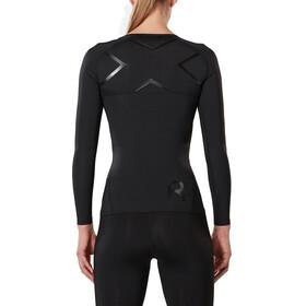 2XU W's Refresh Recovery Compression Longsleeve Shirt black/nero